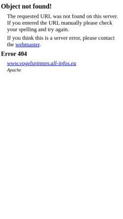 Vorschau der mobilen Webseite www.vogelspinnen.all-infos.eu, Vogelspinnen - All Infos