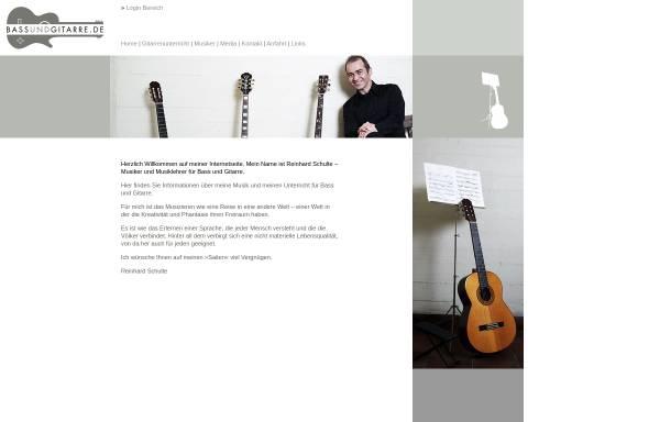 Vorschau von www.bassundgitarre.de, Schulte, Reinhard