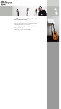 Vorschau der mobilen Webseite www.bassundgitarre.de, Schulte, Reinhard