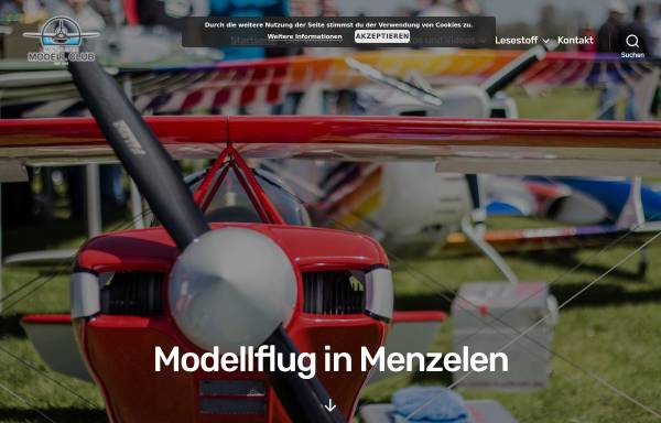 Vorschau von www.mmc-menzelen.de, Homepage des Menzelner Modellbau Clubs