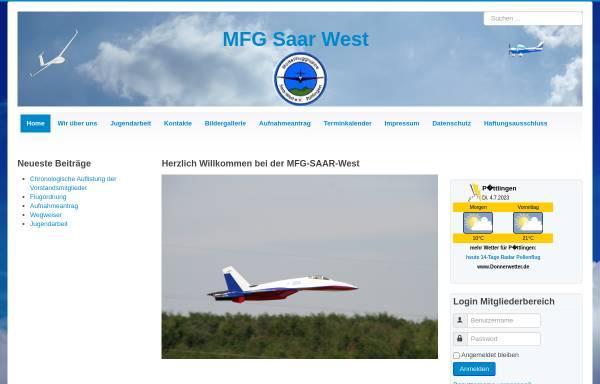 Vorschau von www.mfg-saar-west.de, Modell Flug Gruppe Saar-West e.V.
