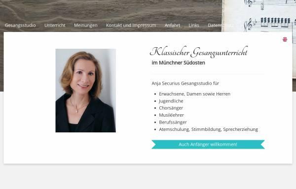 Vorschau von www.secweb.de, Securius, Anja