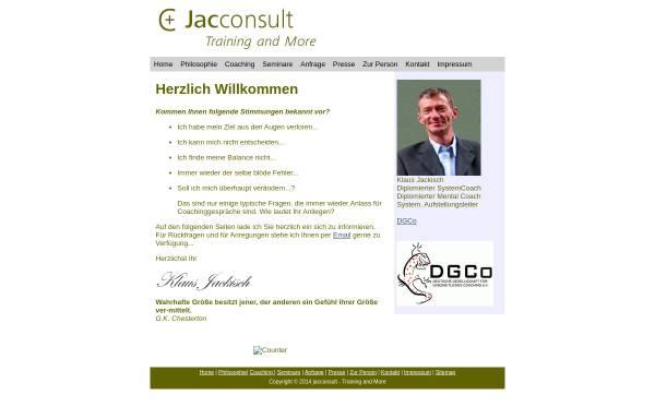 Vorschau von www.coachi-online.de, Jacconsult - Training and More