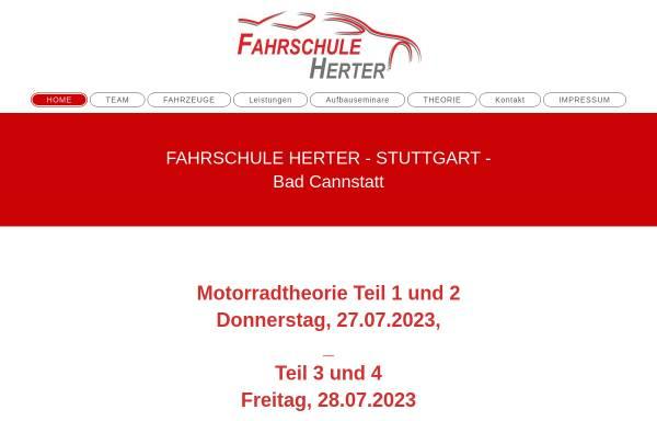Vorschau von www.fahrschule-herter-stuttgart.de, Fahrschule Roland Herter