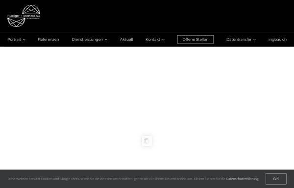 Vorschau von www.fbag.ch, Flückiger + Bosshard AG