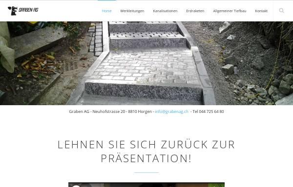 Vorschau von www.grabenag.ch, Graben AG