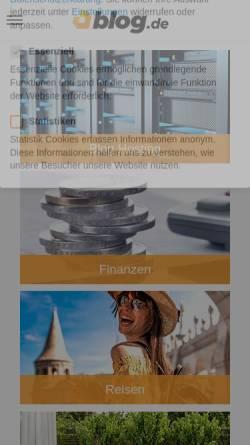 Vorschau der mobilen Webseite fcfk-union.blog.de, FC Fliegender Koffer