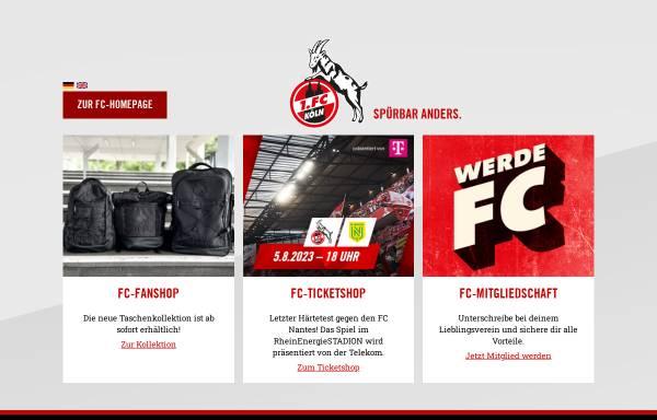 Vorschau von fc.de, 1. FC Köln