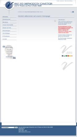 Vorschau der mobilen Webseite www.barmherzige-schwestern-fulda.de, Barmherzige Schwestern, Fulda
