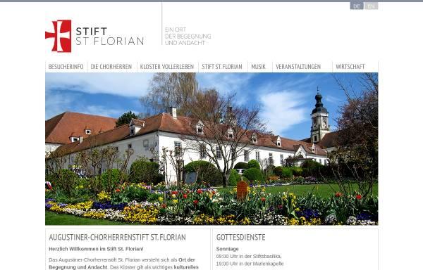 Vorschau von www.stift-st-florian.at, Stift St. Florian