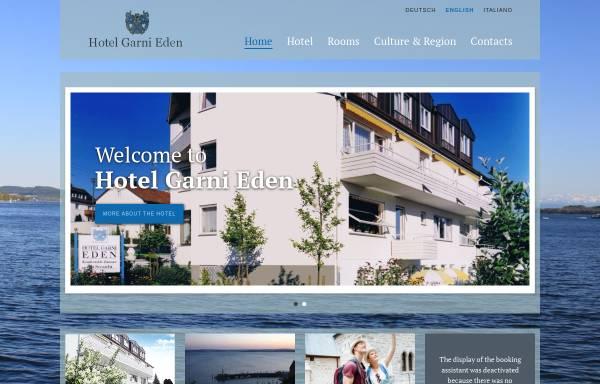 Vorschau von www.hotel-meersburg.de, Hotel Garni Eden