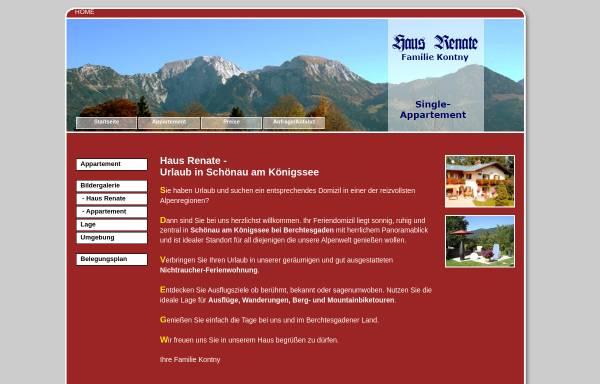 Vorschau von www.ferienwohnung-haus-renate.com, Haus Renate
