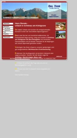 Vorschau der mobilen Webseite www.ferienwohnung-haus-renate.com, Haus Renate