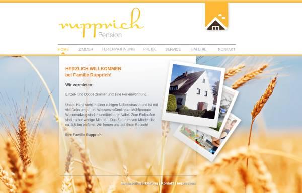 Vorschau von www.hrupprich.de, Ferienwohnung Familie Rupprich