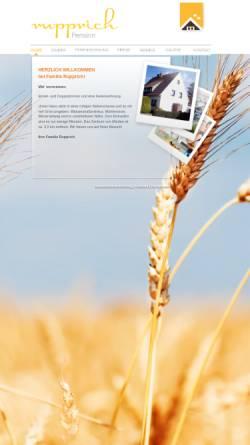 Vorschau der mobilen Webseite www.hrupprich.de, Ferienwohnung Familie Rupprich