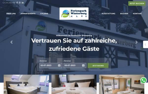 Vorschau von www.ferienpark-winterberg.de, Ferienpark Fichtenweg