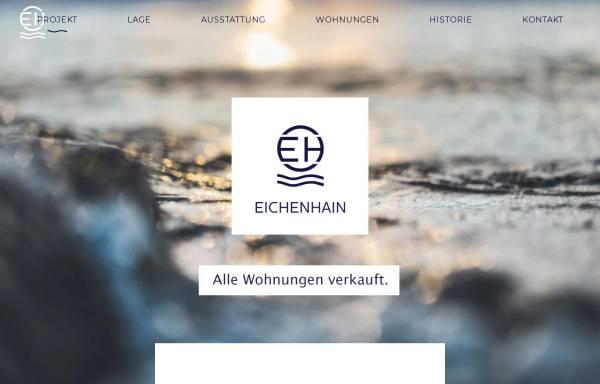 Vorschau von www.eichenhain.de, Seehotel Eichenhain