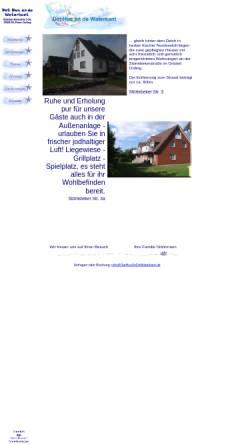 Vorschau der mobilen Webseite dathusandewaterkant.de, Dat Hus an de Waterkant