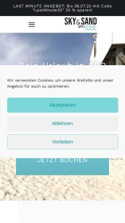 Vorschau der mobilen Webseite www.komm-an-die-nordsee.de, Ferienhaus