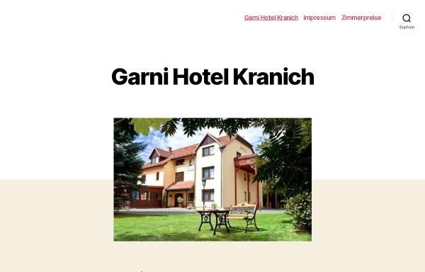 Vorschau von www.hotel-kranich.de, Garni-Hotel Kranich