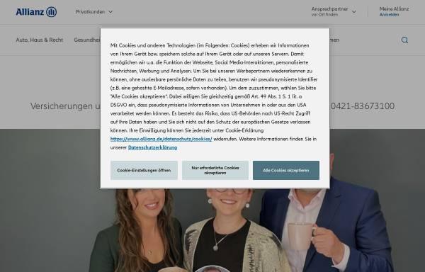 Vorschau von vertretung.allianz.de, Allianz Versicherung und Baufinanzierung - Jens Schmidt