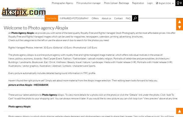 Vorschau von www.akspix.com, Akspix - Bildagentur, Majid Amoli