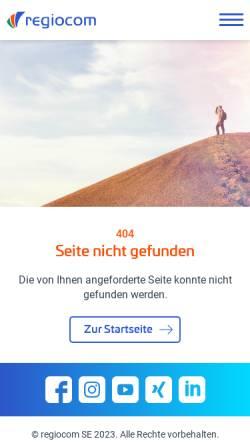 Vorschau der mobilen Webseite www.snt-ag.de, SNT Deutschland AG