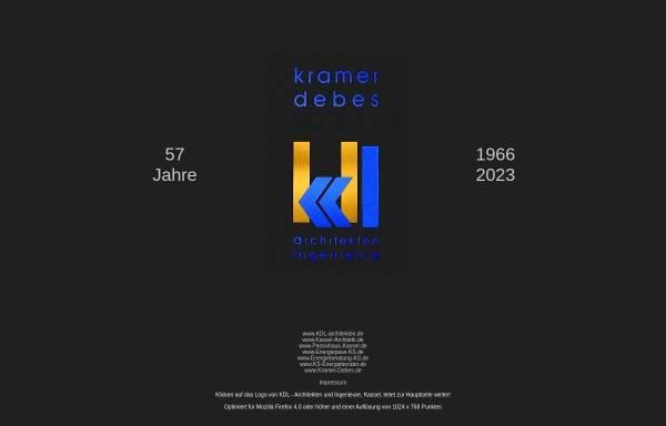 Vorschau von kdl-architekten.de, Kramer, Debes, Leininger und Partner