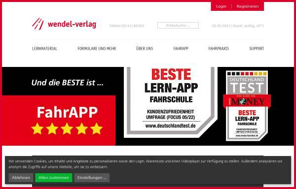 Wendel Verlag wendel verlag gmbh verlags und druckwesen wirtschaft wendel verlag de