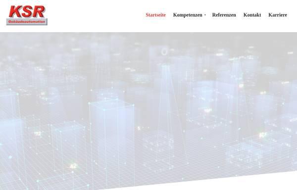 Vorschau von www.ksr-automation.de, KSR Gebäudeautomation