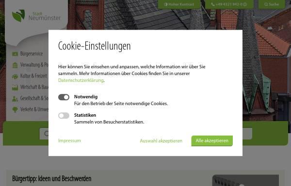 Vorschau von www.neumuenster.de, Kindertagesstätte Schwedenhaus