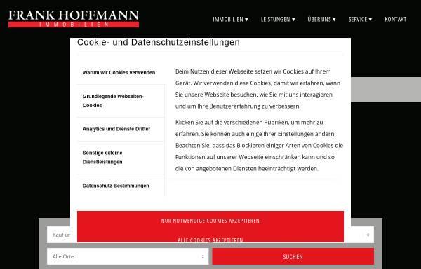 Vorschau von www.frankhoffmann-immobilien.de, Frank Hoffmann Immobilien GmbH & Co. KG