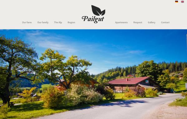 Vorschau von www.ferienbauernhof-pailgut.at, Ferienbauernhof Pailgut