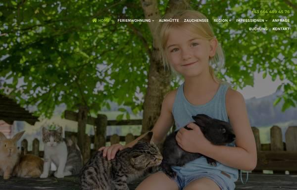 Vorschau von www.familienbauernhof.at, Göttfriedbauer Altenmarkt