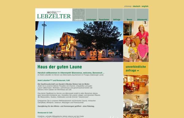 Vorschau von www.lebzelter.com, Hotel Lebzelter