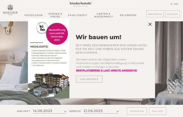 Vorschau von www.kesselgrub.at, Hotel Restaurant Kesselgrub