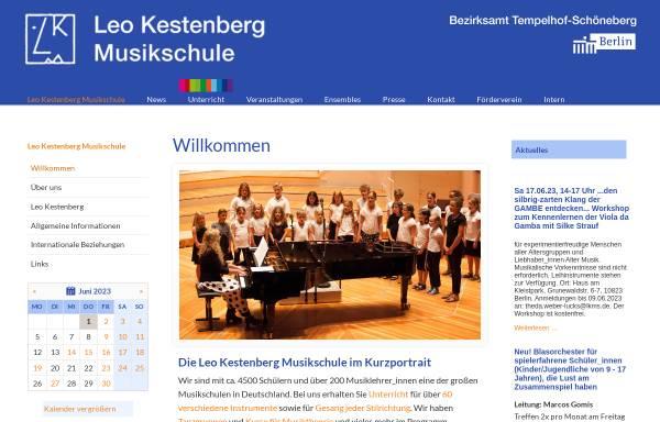 Vorschau von www.lkms.de, Leo Kestenberg Musikschule Berlin