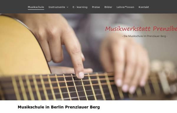 Vorschau von www.musikwerkstatt-prenzlberg.de, Musikwerkstatt Prenzlberg