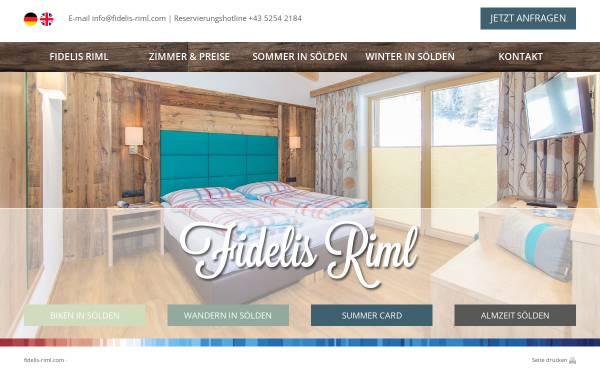 Vorschau von www.fidelis-riml.com, Haus Fidelis Riml