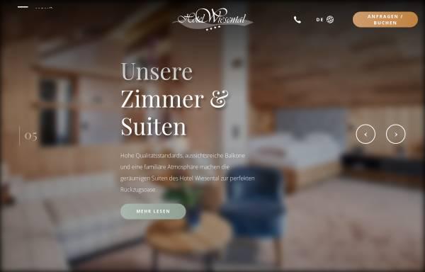 Vorschau von www.hotelwiesental.com, Hotel Wiesental