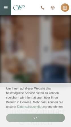 Vorschau der mobilen Webseite www.hotelwiesental.com, Hotel Wiesental