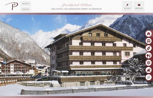 Vorschau von www.parkhotel-soelden.at, Parkhotel Sölden