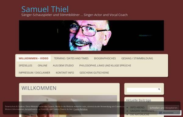 Vorschau von www.samuelthiel.online, Samuel Thiel