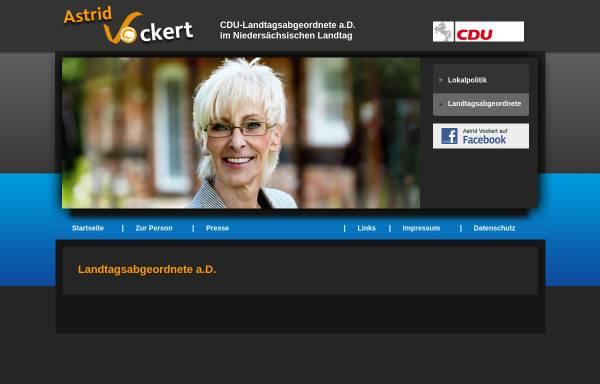 Vorschau von www.vockert.de, Vockert, Astrid (MdL)