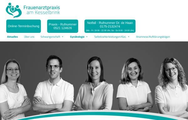 Vorschau von www.frauenaerztinnen-praxis.de, Dr. med. Eva Krause & Dr. med. Brigitte Ellinghaus, Frauenärztinnen