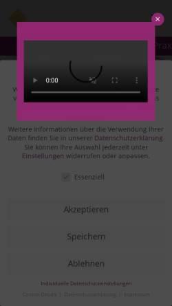 Vorschau der mobilen Webseite www.augenarzt-bochum.de, Dr.med. Jörg Schelenz