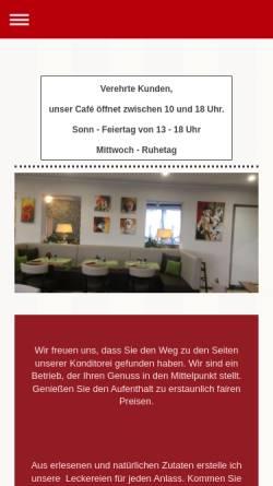 Vorschau der mobilen Webseite www.cafe-mohrenkoepfle.de, Cafe Mohrenköpfle