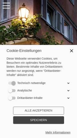 Vorschau der mobilen Webseite www.weinkellereinhorn.de, Weinkeller Einhorn