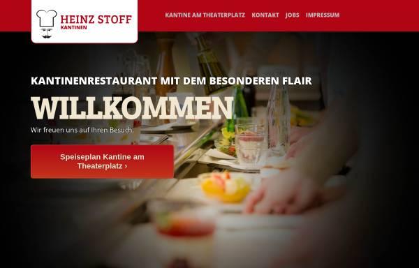 Vorschau von www.speiseplaninfo.de, Heinz Stoff - Kantine im Landesbehördenhaus