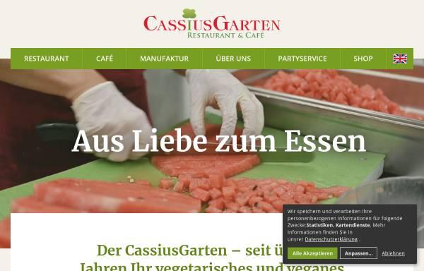 Cassius Garten In Bonn Lebensmittel Gaststätten Und Restaurants